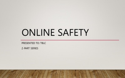 Online Safety Workshop