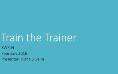 Training the Technology Trainer