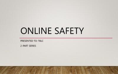 Online Safety Workshop