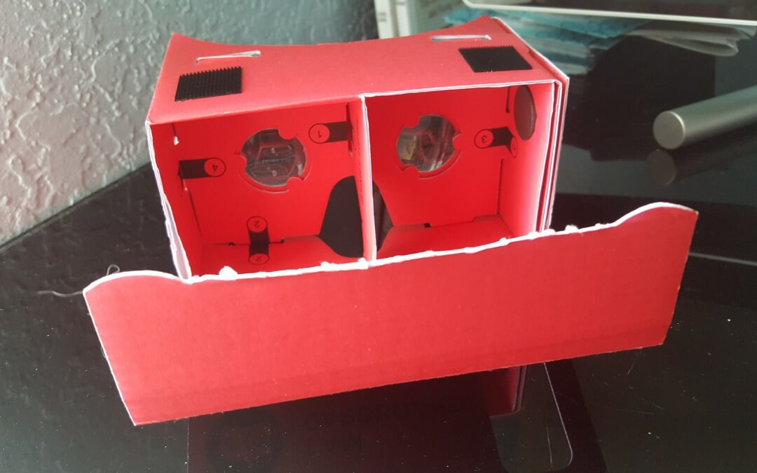 Cardboard and Virtual Reality
