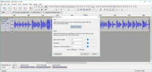 Audacity Get Noise Profile Screenshot
