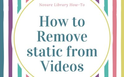 Removing Static from Videos