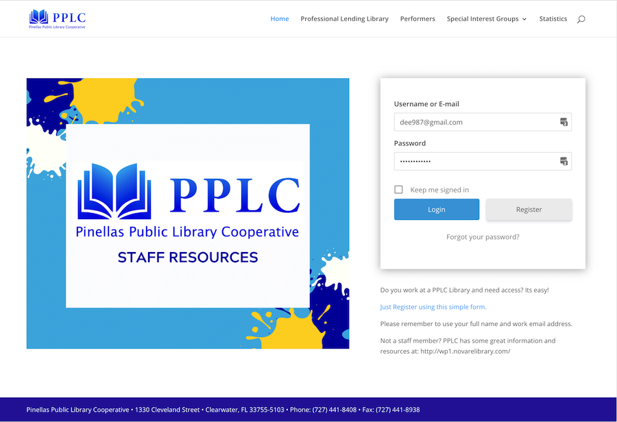 PPLC Staff Resource Page